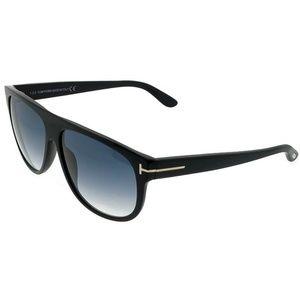 FT0375-02N Kristan Men's Black Frame Sunglasses